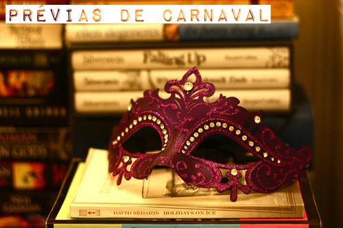 prévias de carnaval