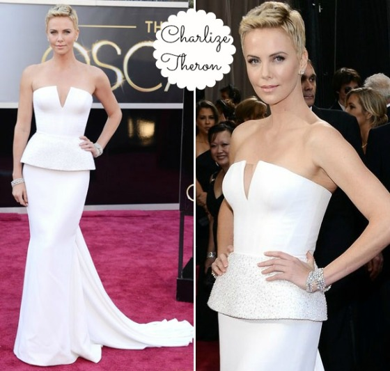 Charlize Theron de Christian Dior Haute Couture