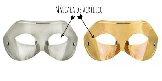 máscara simples