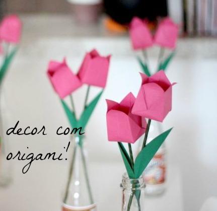 decor com origami