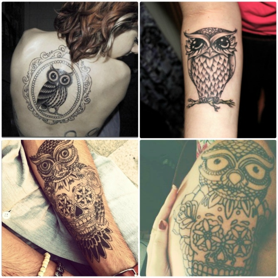tattoo coruja 2