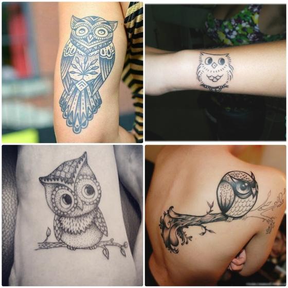 tattoo coruja 4