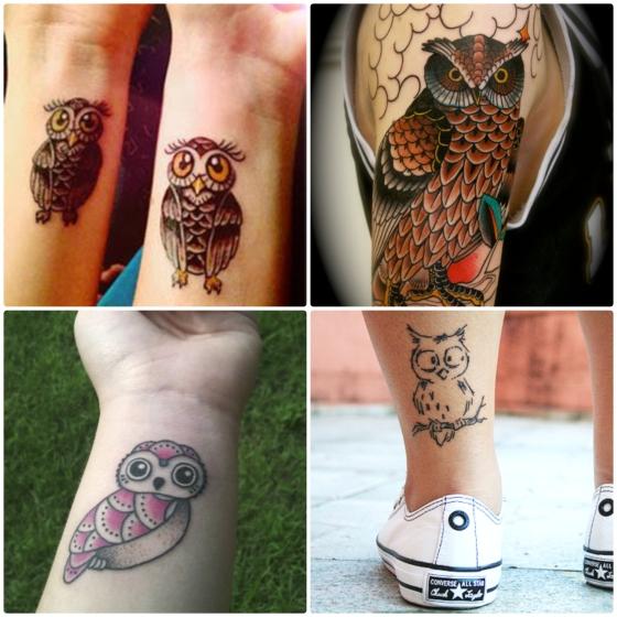 tattoo coruja 5