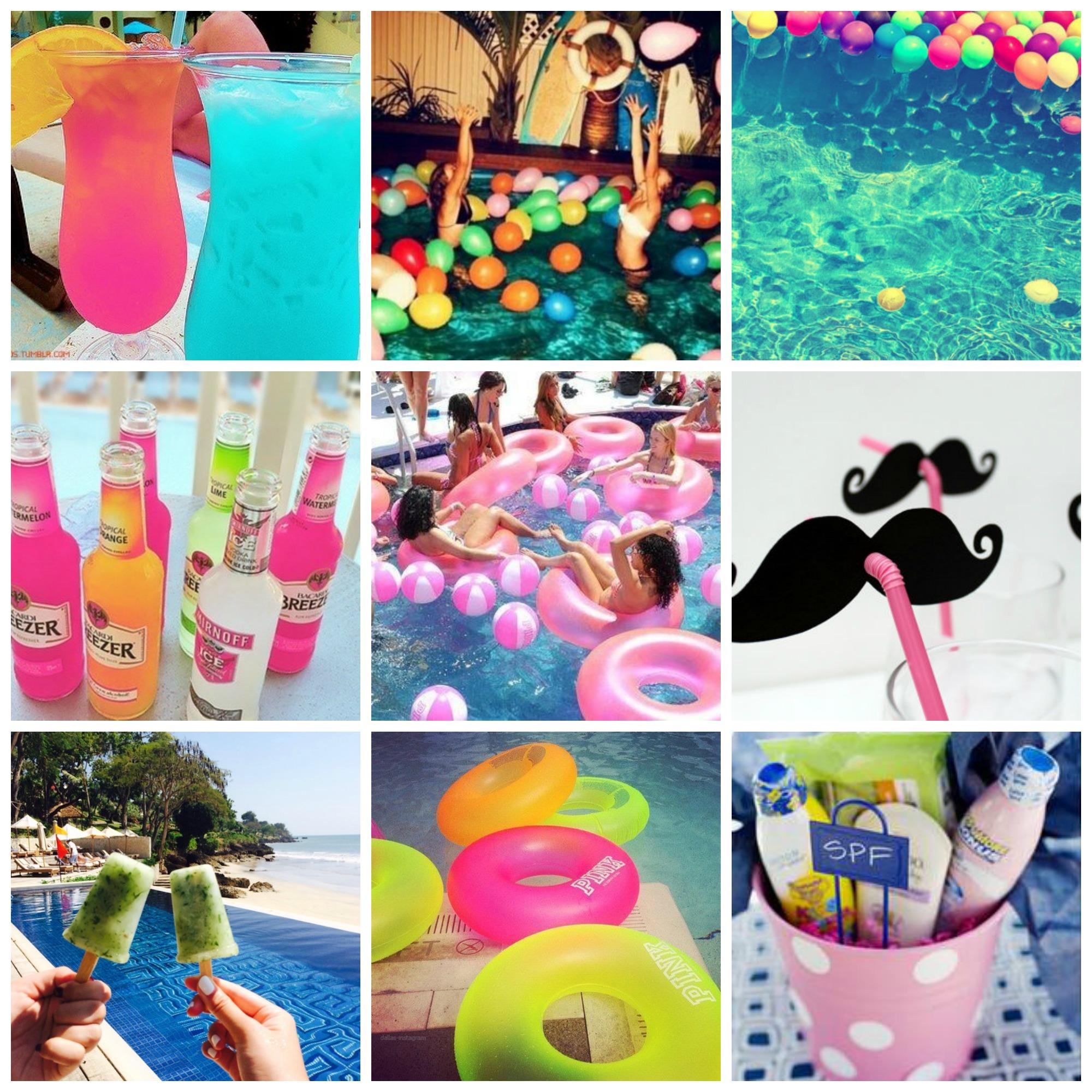 Como organizar uma pool party com toda classe for Piscina party